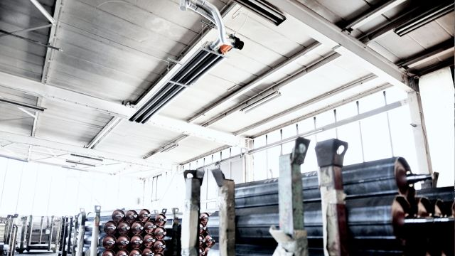 Warehouse heating systems