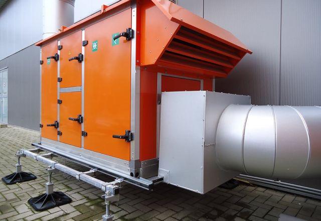Productfoto van het hybridSchwank aero condensatiesysteem van Schwank.
