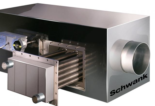 Productfoto condensatiesysteem hybridSchwank hydro van Schwank.