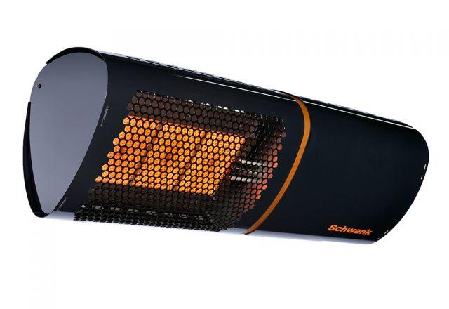 Productfoto van de terrasverwarming lunaSchwank van Schwank.