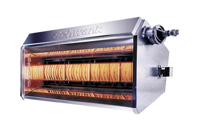 Productfoto lichtverwarming supraSchwank van de firma Schwank.